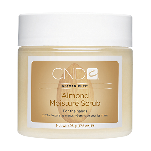 Almond Moisture Scrub 17.5oz Spamanicure CND