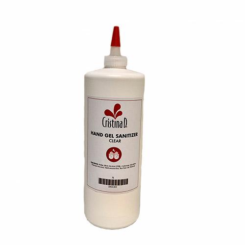 Hand Gel Cleanser Sanitizer 1 LITRE clear