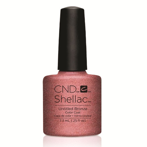 "Untitled Bronze Shellac 1/4oz (7.3ml) ""Art Vandal Collection"" CND"