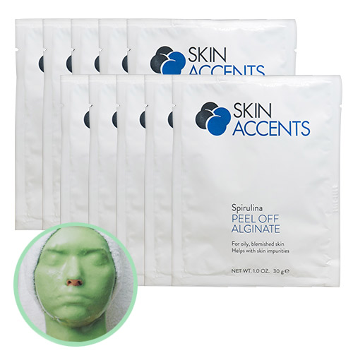 Spirulina Alginate Peel Off Powder Mask (ea) 30gr Skin Accents