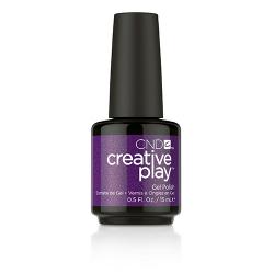 Creative Play GEL Polish #455 Miss Purplelarity (15ml) 0.5 oz CND discontinued
