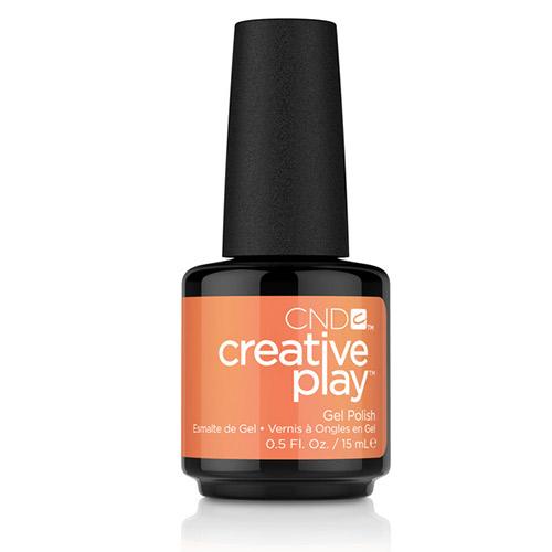 """Creative Play GEL Polish #517 Fired Up """"Mood Hues"""" (15ml) 0.5 oz CND"""