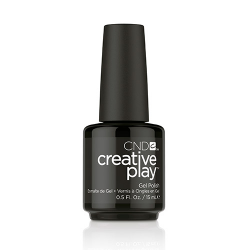 Creative Play GEL Polish #451 Black + Forth (15ml) 0.5 oz CND discontinued