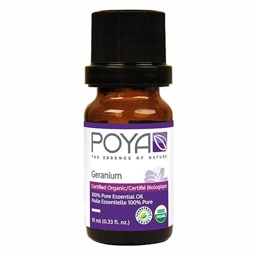 Poya ORGANIC Essential Oil Geranium 10ml (.33 fl.oz)