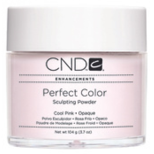Perfect Cool Pink Opaque Powder 3.7oz CND