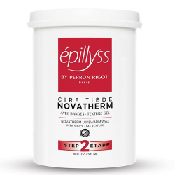 Novatherm Gel Depilitory Wax 560ml Epillyss (Shiney Red)