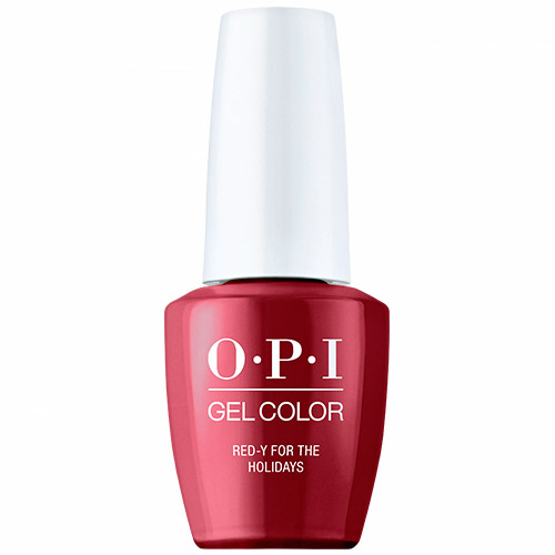 """GelColor - Red-y For the Holidays """"Shine Bright Holiday 2020"""" 1/2oz OPI"""