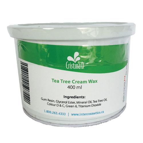 Tea Tree Cream Wax 400 ml Cristina D