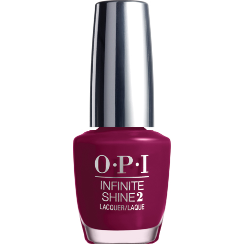 Infinite Shine Berry on Forever Lacquer 1/2 oz S/O 15' OPI