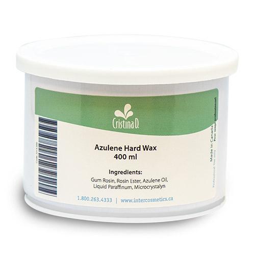 Azulene Hard Wax (Canned) 400ml Cristina D