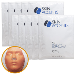Fig Extract Peptite Alginate Peel Off Powder Mask (each) 30gr Skin Accents