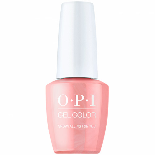 """GelColor - Snowfalling for You """"Shine Bright Holiday 2020"""" 1/2oz OPI"""