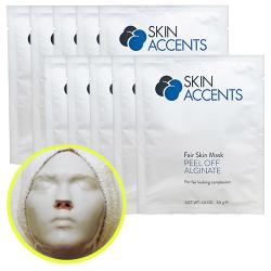 Fair Skin Alginate Peel Off Powder Mask (1 each) 30gr Skin Accents