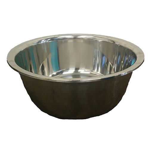 """Stainless Steel Bowl For Pedicures Large (use """"972"""" liners)"""