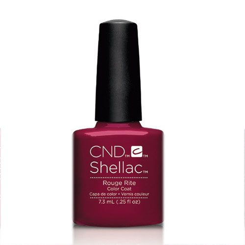 """Rouge Rite Shellac 1/4 oz (7.3ml)  """"Contradictions"""" CND"""