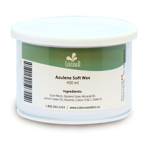 Azulene Soft Wax 400ml Cristina D
