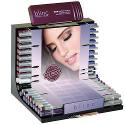 Blinc Showcase Display (35 products, 35 testers, 25 backstock)