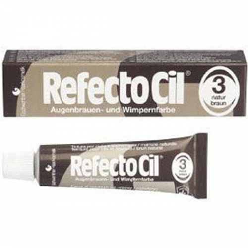 RefectoCil Natural Brown (3)15gr (Dark)
