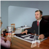Protective Barrier Divider Clear Self Standing - small