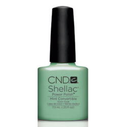 Mint Convertible Shellac 1/4oz (7.3ml) CND