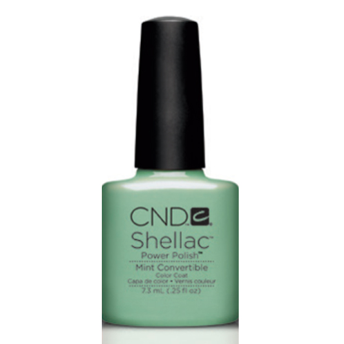 Mint Convertible Shellac 1/4oz (7.3ml) CND