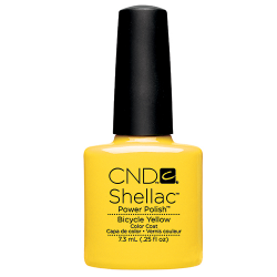 Bicycle Yellow Shellac 1/4oz (7.3ml) CND discontinued