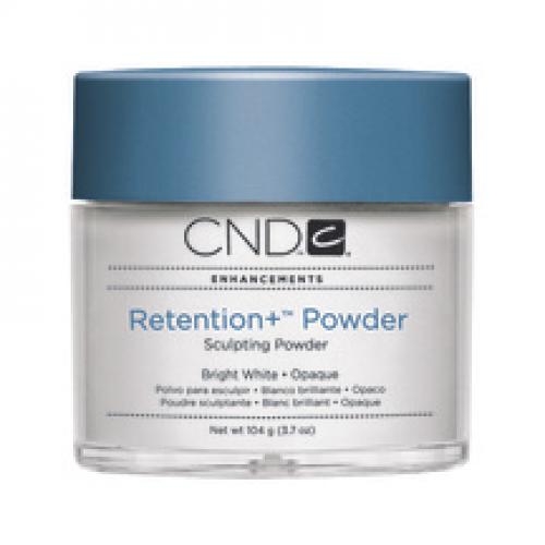 Retention + Powder Bright White Opaque 3.7oz CND