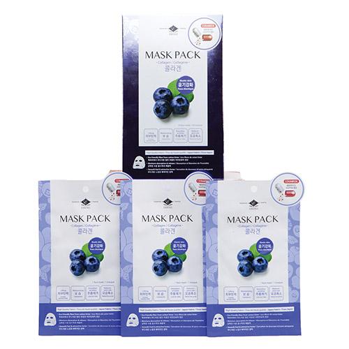 Ceramide Collagen Mask Pack box of 10 sheet masks