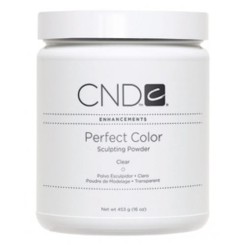 Perfect Clear Powder 16oz Creative CND (discontinued final sale 25% off)
