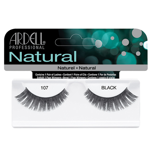 Natural Lash #107 Black Ardell Professional