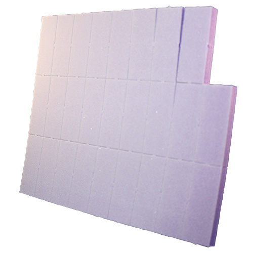Purple Slim Buffers 2 Way 100/180 White Grit