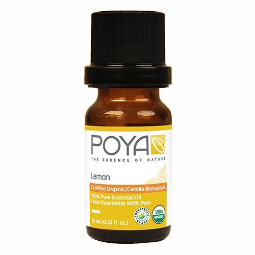 Poya ORGANIC Essential Oil Lemon 10ml (.33 fl.oz)