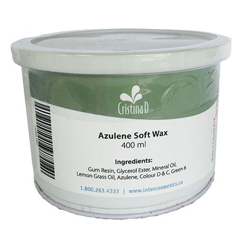 Azulene Soft Wax 400ml Cristina D