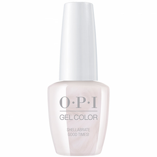 """Gelcolor - Shellabrate Good Times! 1/2 fl oz """"Neo Pearl"""" OPI"""