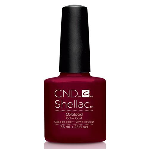 "Oxblood Shellac 1/4oz (7.3ml) ""Craft Culture"" CND"