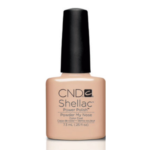 Powder My Nose Shellac 1/4oz(7.3ml) CND
