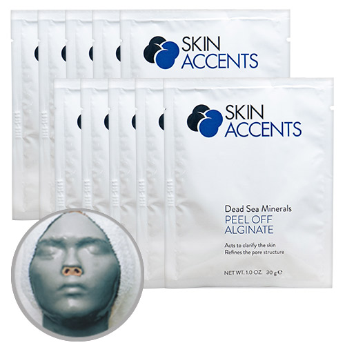 Dead Sea Alginate Peel Off Powder Mask(ea) 30gr Skin Accents