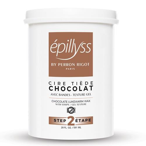 Chocolate Depilitory Gel Wax Epillyss 560ml