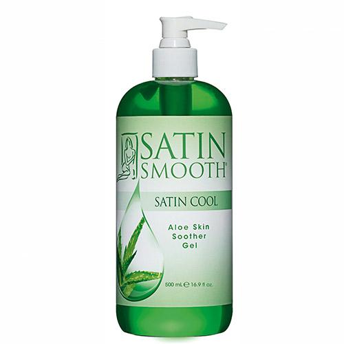 Satin Cool Aloe Skin Soother Gel 16oz Satin Smooth