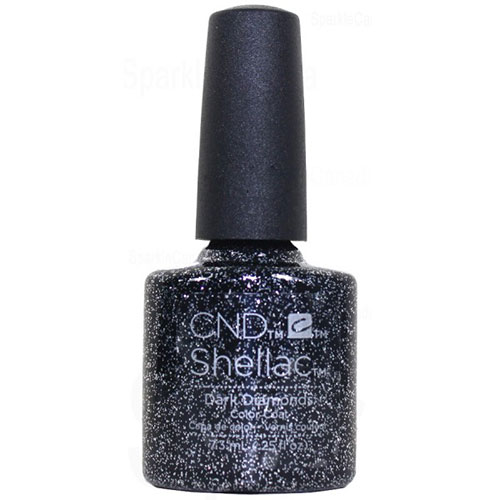 "Dark Diamonds Shellac 1/4 oz (7.3 ml) ""Starstruck Holiday Collection 16"" CND"