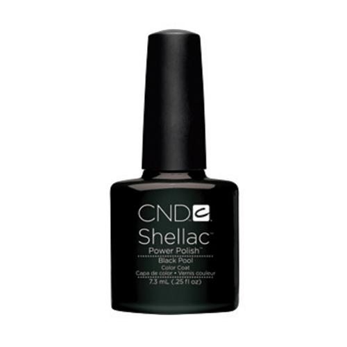 Black Pool Shellac 1/4oz (7.3ml) CND