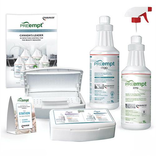 PREempt Spa Intro Kit (CS20 Litre, RTU Litre, Small Soaker, Brochure & Sticker)