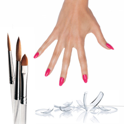 Enhancement Tips, Brushes, Forms CND