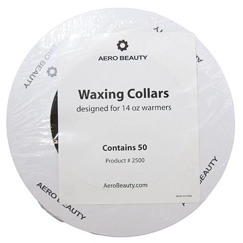Wax Collars Round 50/pk