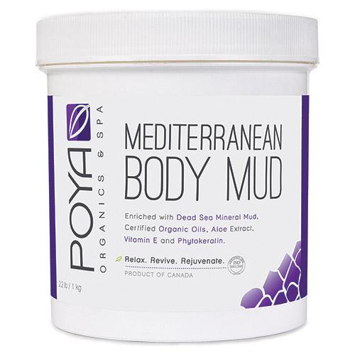 Poya Mediterranean Body Mud (Dead Sea Mineral Face & Body Mud) 1kg (45oz)