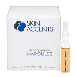 Recovering Ampoule Box/25 Skin Accents