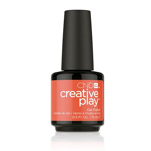 Creative Play GEL Polish #499 Tangerine Rush (15ml) 0.5 oz CND - discontinued