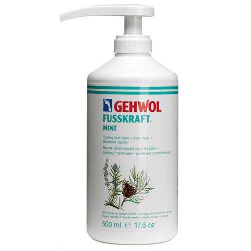 Mint Foot Cream 500ml (Refill) With Pump - Gehwol