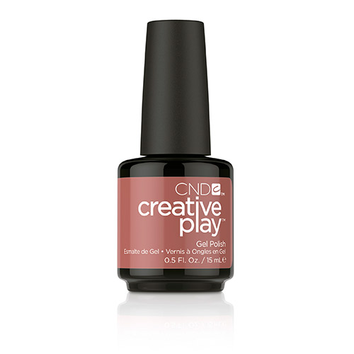 Creative Play GEL Polish #418 Nuttin to Wear (15ml) 0.5 oz CND - discontinued