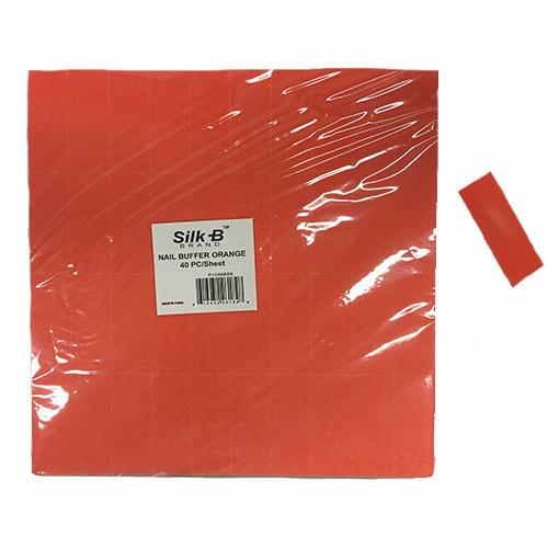 Small Orange Slim Buffers 2 Sided Fine Sanding White Grit 40/sheet 150/180 grit
